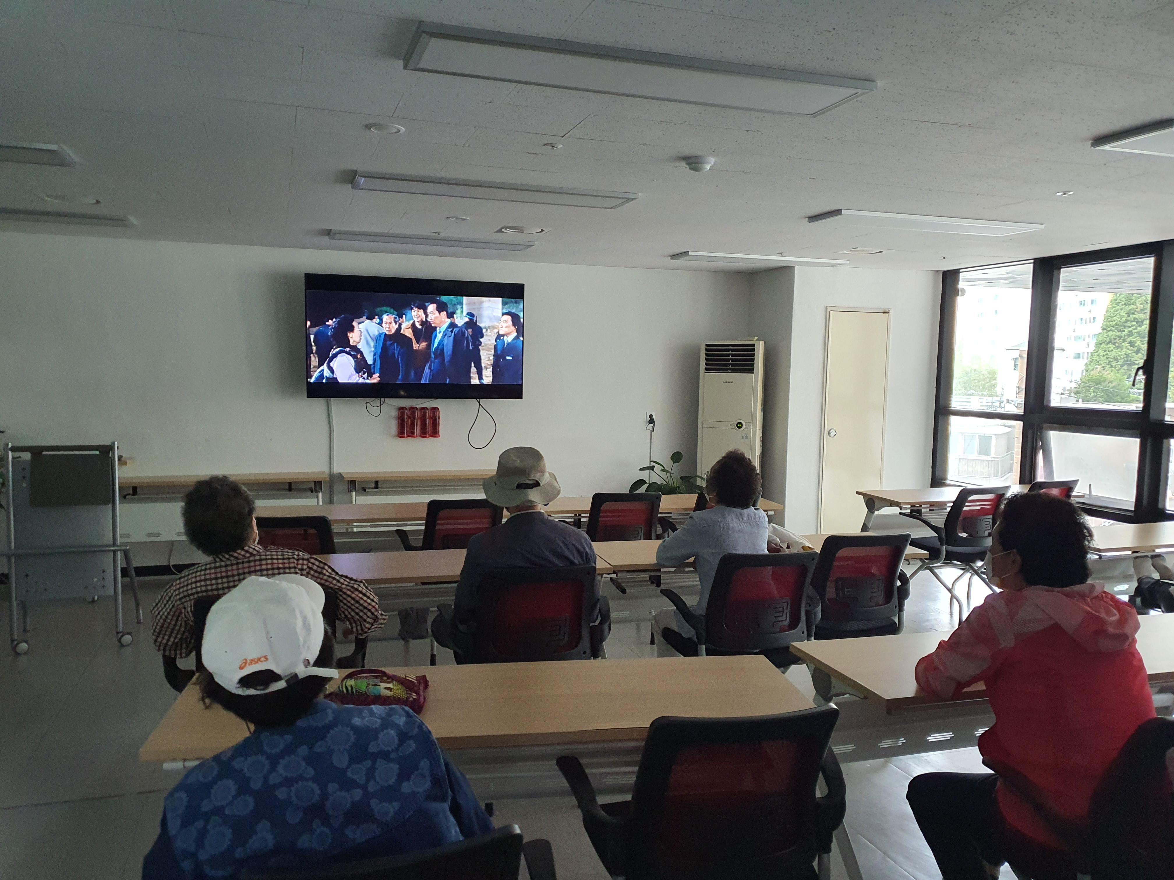 [맞춤돌봄] 9월 만리재 영화관 진행