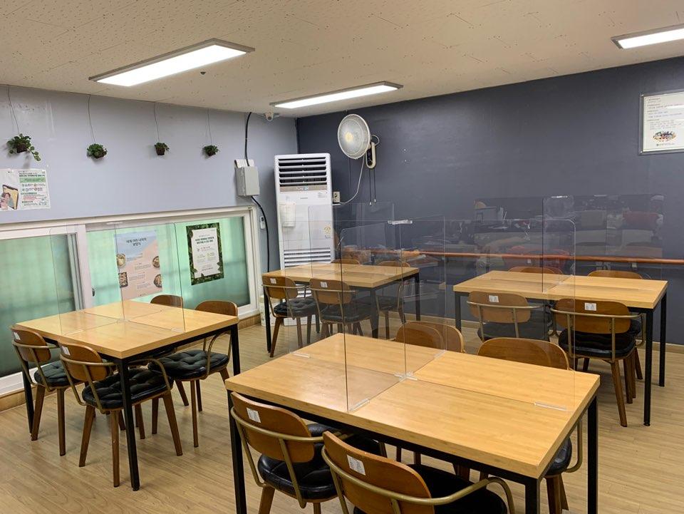 [데이/요양] 프로그램실 및 식당 가림막 설치