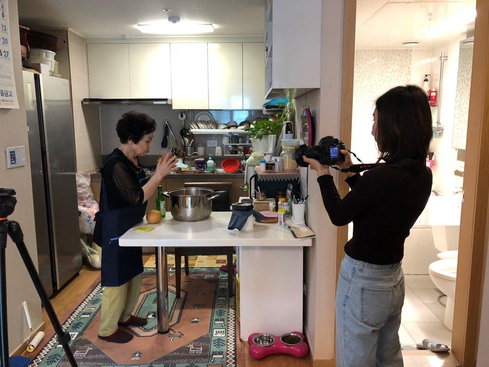 [재가지원] 재가어르신 요리 콘텐츠 제작 프로그램 '내가 바로 쿡(COOK)크리에이터!' 2차 활동