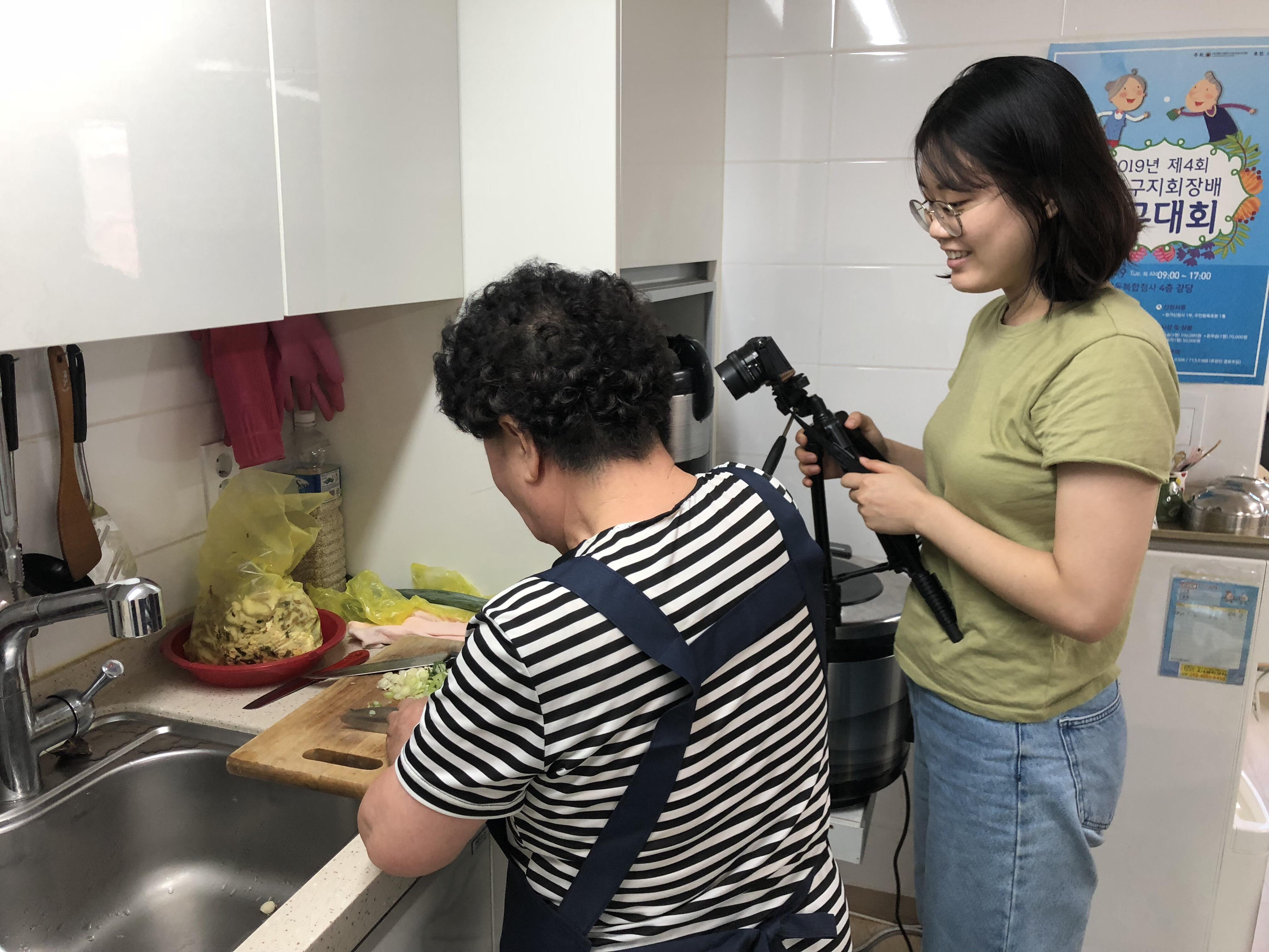 [재가지원] 재가어르신 요리 콘텐츠 제작 프로그램 '내가 바로 쿡(COOK)크리에이터!' 5차 활동