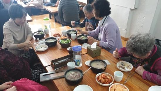 [요양시설] 특화프로그램 '마포의 맛집을 찾아서'(1회기)