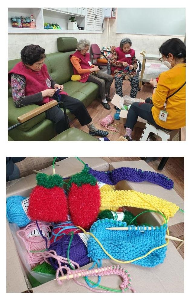 [데이] 소그룹 프로그램 '뜨개질'