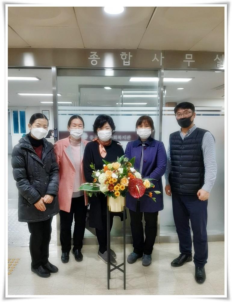 [운영기획팀] 복지관에 화사한 꽃이  피어났어요!