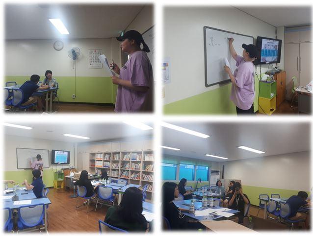 [지역사회조직팀]2019년 청소년 생명존중 동아리 '청명리' 2차정기회의 진행