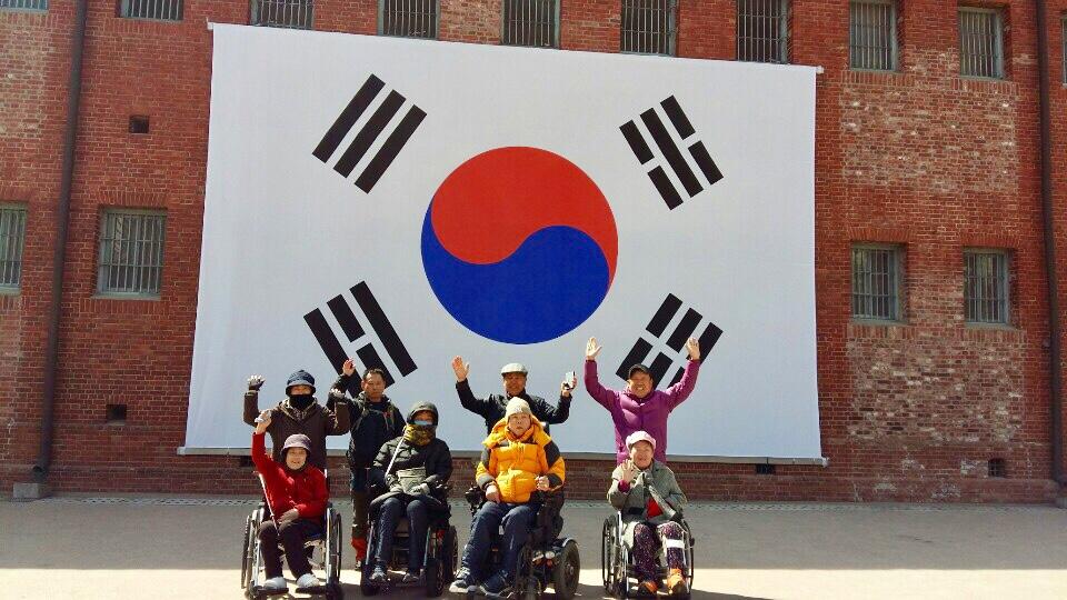 중증장애인 자조모임, 희망휠체어…