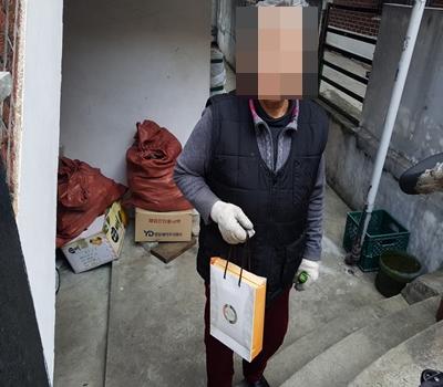 [송파재가노인지원센터]2018년 3월 생신 떡 선물세트 전달 행사 진행