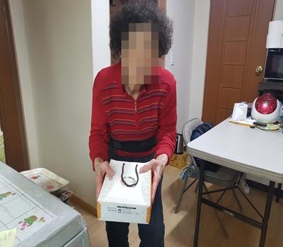 [송파재가노인지원센터]2018년 2월 생신 떡 선물세트 전달 행사 진행