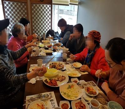 [송파재가노인지원센터] 2017년 칠팔구순어르신 & 12월 생신어르신 축하잔치 행사 진행